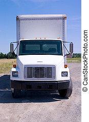 白色, 送貨卡車