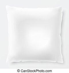 白色, 陰影, 被隔离, 枕頭