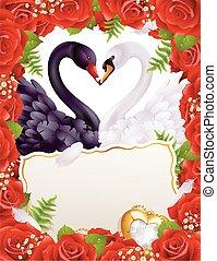 白鳥, 愛, グリーティングカード