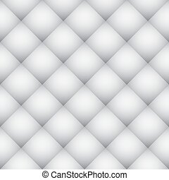 白, ダイヤモンドパターン, 柔らかい, 壁, ベクトル, texture.