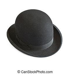 白, ボーリング競技者帽子