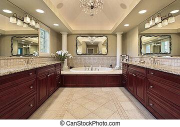 白, マスター, コラム, 浴室