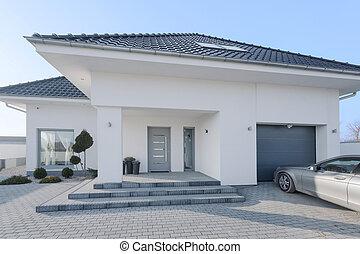 白, 国王の住宅