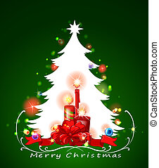 白, 木, クリスマス
