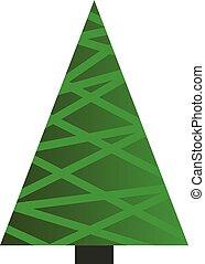 白, 木, クリスマス, 背景