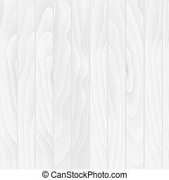 白, 木, 板, 手ざわり, ベクトル, 背景