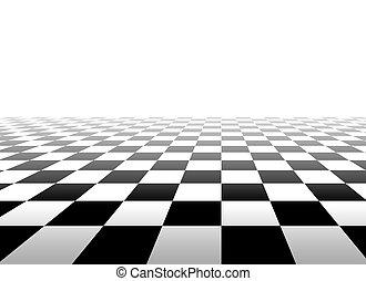 白, 正方形, 黒い背景