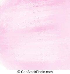 白, 水彩画, 抽象的, 背景, ピンク