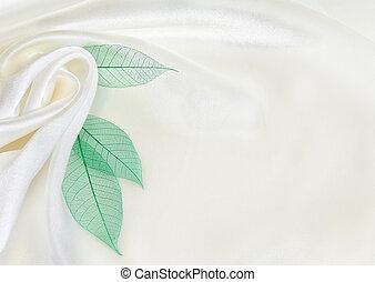 白, 絹, 緑は 去る