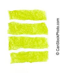 白, 緑, セロハン, ?background.