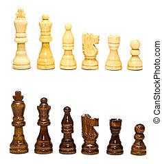 白, 黒, チェス