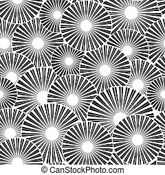 白, 黒, seamless, 背景