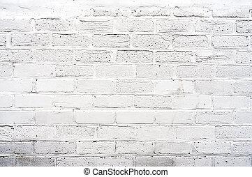 白, brickwall