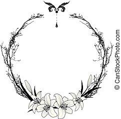 百合花, 框架