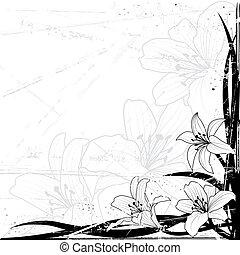 百合花, 背景