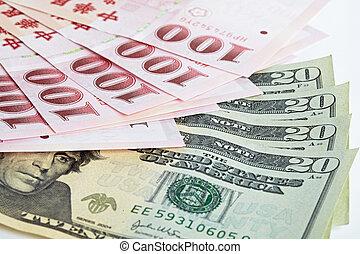 百, 6, ドル, 現金, 1(人・つ), 新しい, 台湾, 小片
