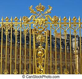 皇家, 门, 在, 凡尔赛