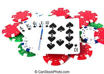 皇族, ストレートな高まり, ∥で∥, ポーカーチップ