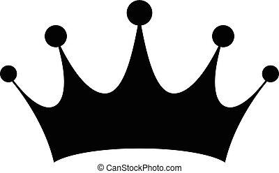 皇族, ベクトル, 王冠