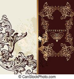 皇族, 贅沢, カード, 招待