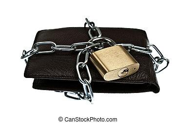 皮夾子, 被鎖