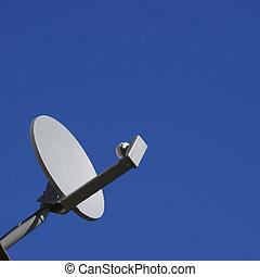 皿, 人工衛星