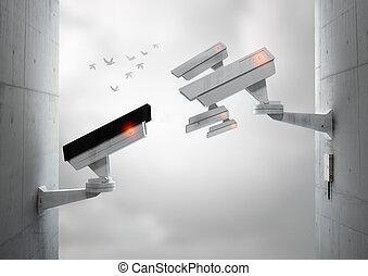 監視, あなた, 監視, 私