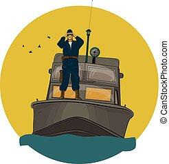 監視, ボーダー, ボート