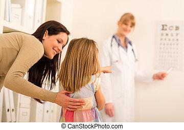 目図表, 医学の オフィス, 指すこと, 小児科医