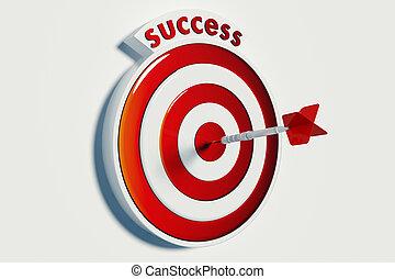 目標, 以及, 成功