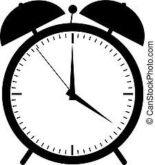 目覚し 時計, アイコン
