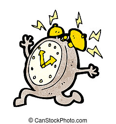 目覚し 時計, 動くこと, 漫画