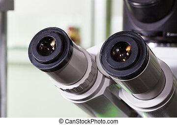 目鏡, ......的, 顯微鏡