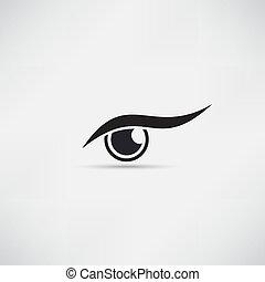 目, アイコン