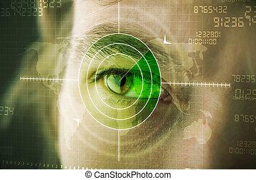 目, ターゲット, 現代, cyber, 軍, 技術, 人
