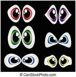 目, ベクトル, セット
