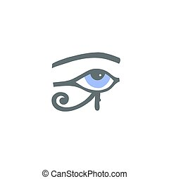 目, 象形文字, horus, エジプト人, ra, ∥あるいは∥