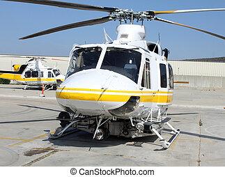 直升飛机, 援救
