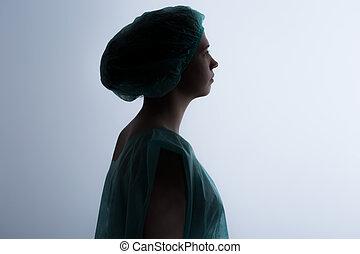 相片, ......的, 婦女的, 靈魂