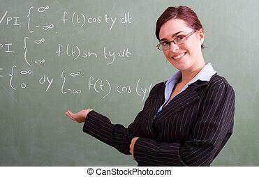 相當, 數學, 老師