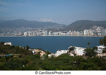 看法, 上, the, acapulco, 墨西哥
