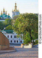 看法, ......的, 基輔, pechersk, lavra, 正統, 修道院, 烏克蘭