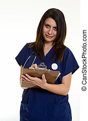 看護婦, チャート