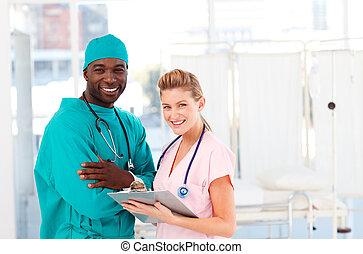 看護婦, 医者, 病院