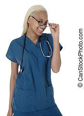 看護婦, 学生