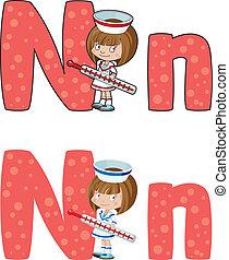 看護婦, 手紙n