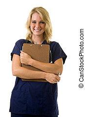 看護婦, 若い