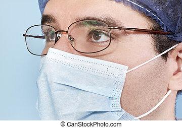 看, 外科醫生, 向上