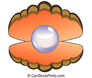 真珠, 貝殻