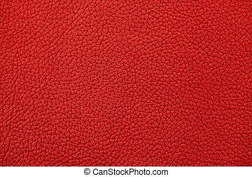 真皮, nubuck, 红, 表面